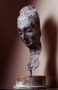 maschera di donna lato